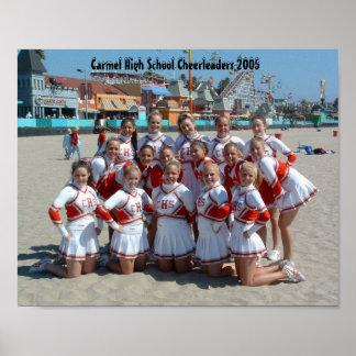 Carmel High School Cheerleaders 2005 Poster