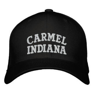 Carmel Indiana Embroidered Hat