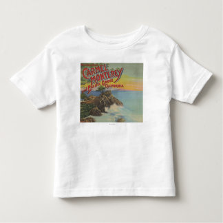 Carmel, Monterey, & Pacific Grove, CA - Welcomes Toddler T-Shirt