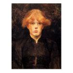Carmen by Toulouse-Lautrec Post Card