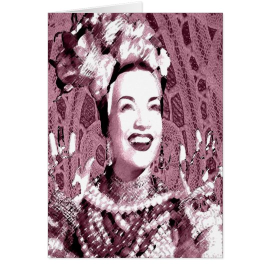 CARMEN LA RUMBERA CARD