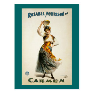 Carmen, The Opera 1896 Postcard