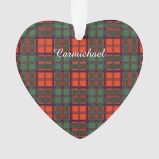 Carmichael clan Plaid Scottish kilt tartan Ornament
