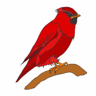Carmine Cardinal Photo Cutouts