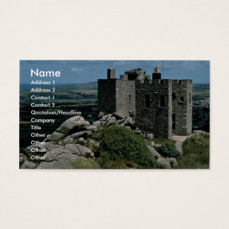 Carn Brea Castle at the Cornish Riviera Business Card