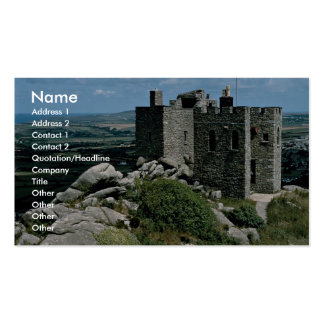 Carn Brea Castle at the Cornish Riviera Pack Of Standard Business Cards
