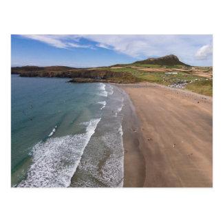 Carn Llidi and Whitesands Bay Wales Postcard