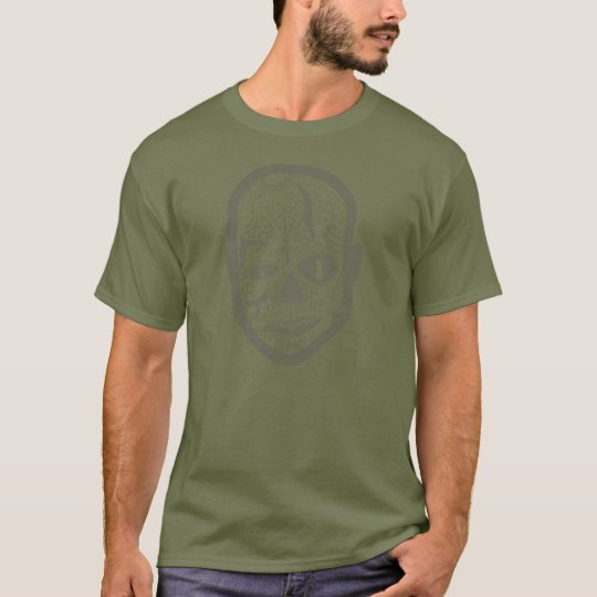 Carn Skull - Army Green T-Shirt