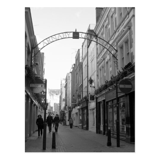 Carnaby Street, London Postcard