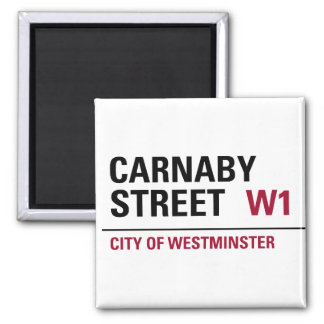 Carnaby Street Sign Magnet