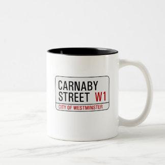 Carnaby Street sign Coffee Mug