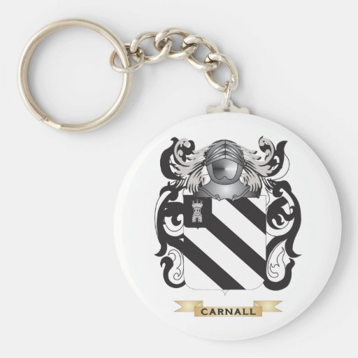 Carnall Coat of Arms (Family Crest) Key Chains
