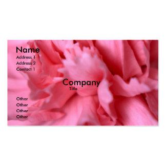 Carnation Business Card