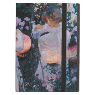 Carnation, Lily, Lily, Rose by John Singer Sargent iPad Air Cover
