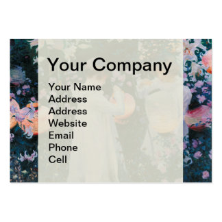Carnation, Lily, Lily, Rose by John Singer Sargent Pack Of Chubby Business Cards