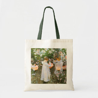 Carnation, Lily, Lily, Rose By John Singer Sargent Tote Bag