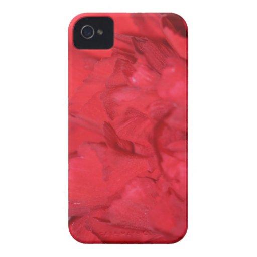 Carnation Petals Macro iPhone 4 Case-Mate Case