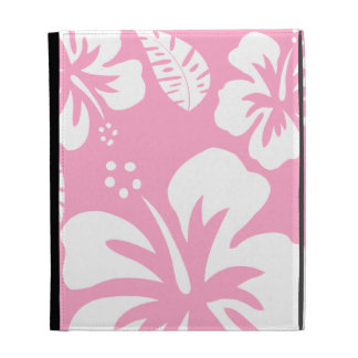 Carnation Pink Tropical Hibiscus iPad Case