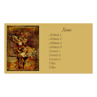 Carnation Rhapsody Pack Of Standard Business Cards