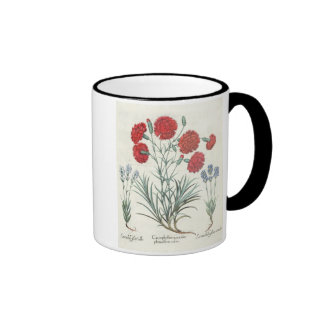 Carnations and Lavender: 1.Caryophyllus maximus pl Coffee Mug