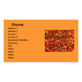 Carnations Business Card