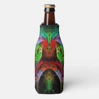 Carnaval Abstract Art Bottle Cooler