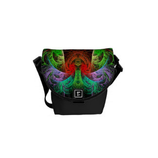 Carnaval Abstract Art Mini Bag Courier Bag