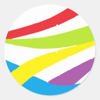 Carnaval Colection Round Sticker