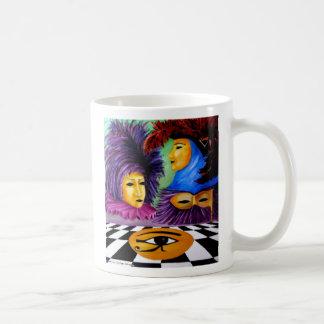 carnaval du monde classic white coffee mug