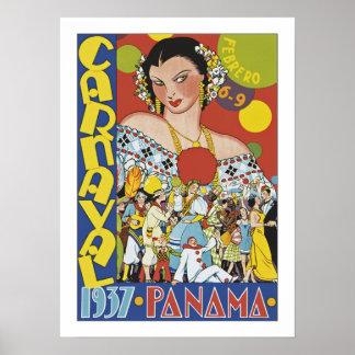 Carnaval in Panama Poster