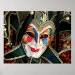 Carnaval Mask Print