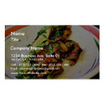 Carne Asada Tacos Double-Sided Standard Business Cards (Pack Of 100)