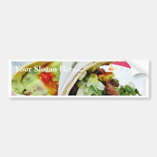 Carne Asada Tacos Guacamole Car Bumper Sticker