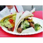 Carne Asada Tacos Guacamole Photo Sculptures