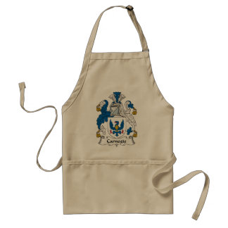Carnegie Family Crest Aprons