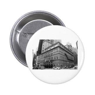 Carnegie Hall 6 Cm Round Badge