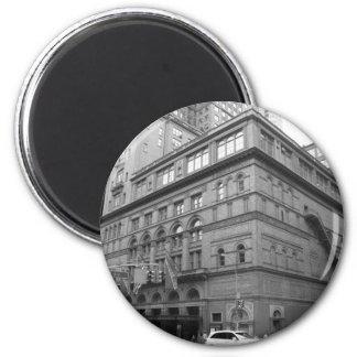 Carnegie Hall 6 Cm Round Magnet