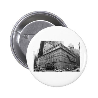 Carnegie Hall Pinback Buttons