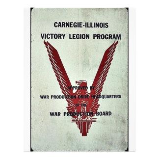 Carnegie-Illinois Victory Legion Program Flyers