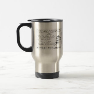 Carnegie Steel for Locomotive Wheels Travel Mug