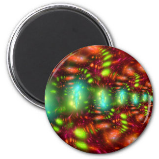 Carnival 6 Cm Round Magnet