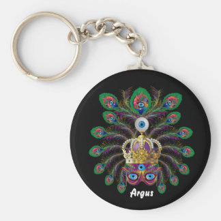 Carnival Argos-Argus Eyes Important view notes Basic Round Button Key Ring