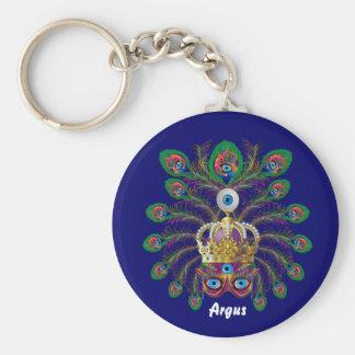 Carnival Argos-Argus Eyes Important view notes Basic Round Button Key Ring