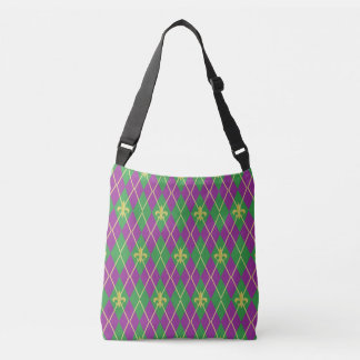 Carnival Argyle All-Over-Print Bag