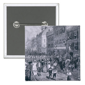 Carnival at Philadelphia 15 Cm Square Badge
