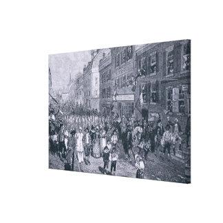 Carnival at Philadelphia Canvas Prints