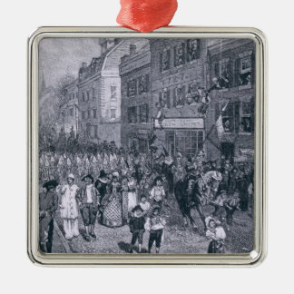 Carnival at Philadelphia Christmas Ornament