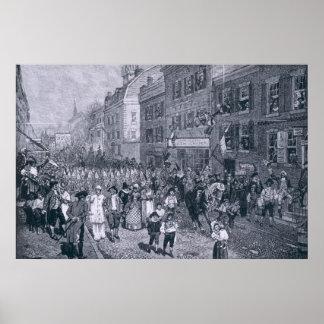 Carnival at Philadelphia Poster