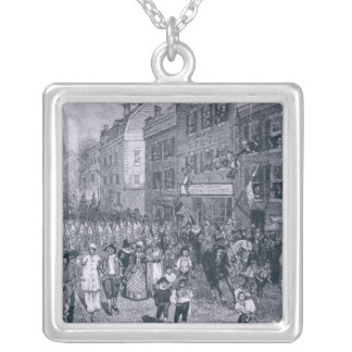 Carnival at Philadelphia Silver Plated Necklace