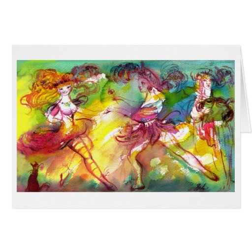 CARNIVAL BALLET / Venetian Masquerade,Dance,Music Card